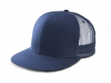 kp113 K-UP TRUCKER FLAT PEAK CAP - 6 PANELS